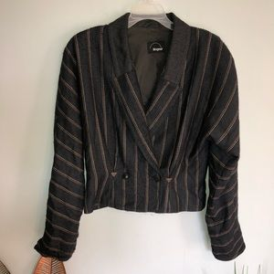 Bogner Striped Blazer Jacket